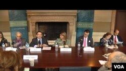 Učesnici panela o situaciji na Balkanu u organizaciji Nemačkog Maršalovog fonda u Vašingtonu, 20. juna 2017.
