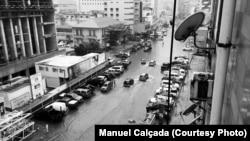 Inundações em Luanda