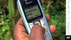 African banks hope allowing people to transfer money via cell phone will encourage more people to put money in their accounts.