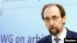 Верховный комиссар ООН по права человека Зейд Раад аль Хусейн
