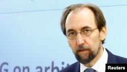 Zeid Raa'd Al Hussein, Alto Comisionado de la ONU para Derechos Humanos.