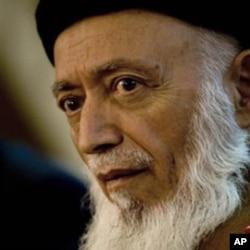 Former Afghan President Burhannudin Rabbani. (file photo)