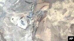 تصویر ماهواره ای تاسیات غنی سازی اورانیوم نطنز