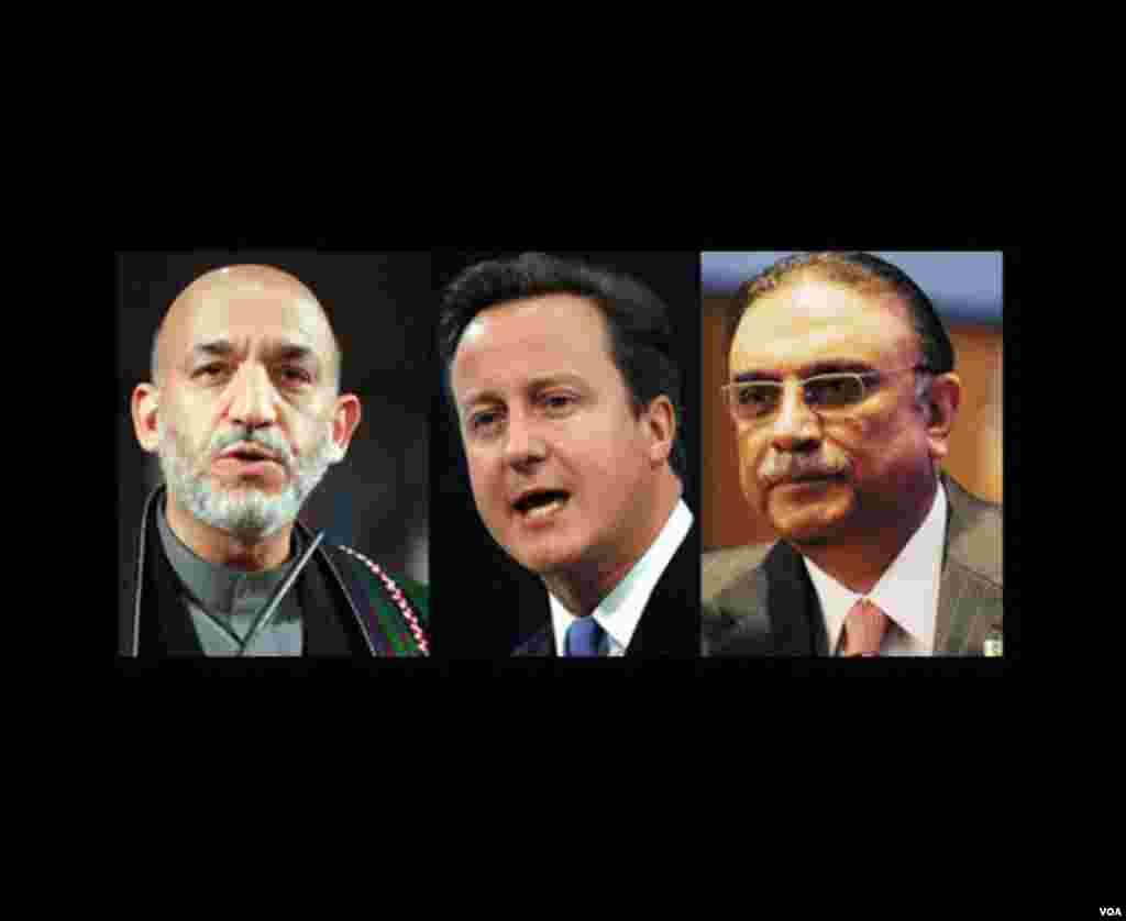 Pakistan-Afghanistan-Britain-leaders