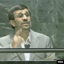 Predsjednik Irana Mahmoud Ahmadinejad
