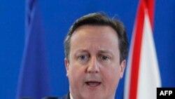 Thủ tướng Anh David Cameron