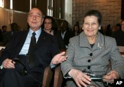 در کنار ژاک شیراک رئیس جمهوری سابق فرانسه