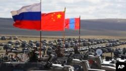2018年俄羅斯、中國以及蒙古參加聯合軍演。