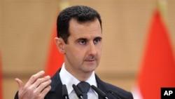 바샤르 알 아사드 시리아 대통령 (자료사진)