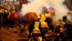 Nouvelle manifestation anti-Pékin à Hong Kong