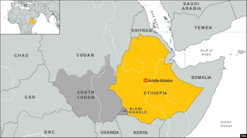 Protests in ethiopias gonder city signal uncertain future ethiopia map gumiabroncs Images