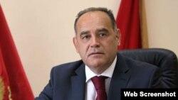 Potpredsednik vlade Crne Gore Milutin Simović