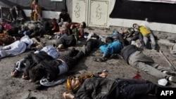 Nạn nhân của vụ tấn công tự sát trong thủ đô Kabul hôm thứ Ba 6/12/11