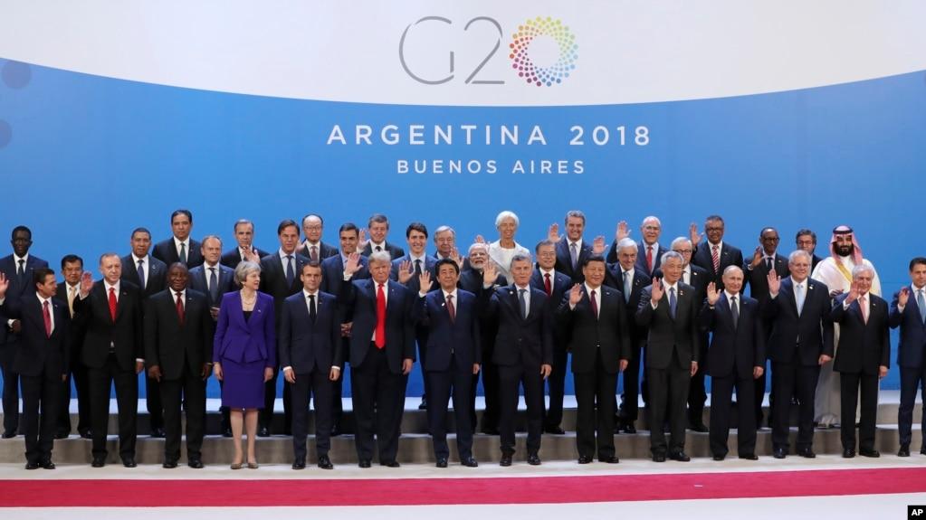 阿根廷20国集团峰会