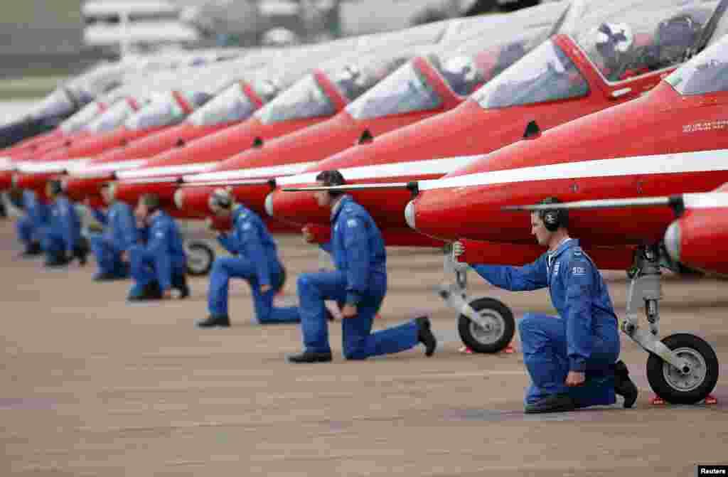 اس فیسٹیول میں 25 سے زائد ممالک کی فورسز اور سویلین طیارے رکھے گئے ہیں۔