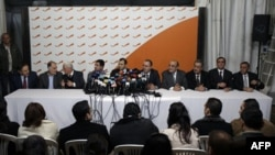 Члены кабинета, принадлежащие к оппозиционному движению «Хезболла»