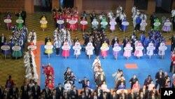 제17차 태권도 세계선수권대회 개막식 모습