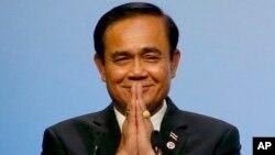 Prayuth Chan-ocha, diperkirakan akan terpilih kembali sebagai Perdana Menteri Thailand.