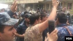 Iračke trupe slave u Starom gradu u Mosulu