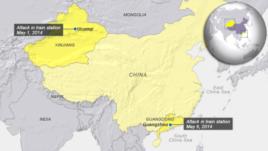 Attacks in China