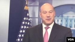 Gary Cohn, principal asesor económico de la Casa Blanca expresó optimismo sobre la participación del presidente Donald Trump en el Foro Económico de Davos.