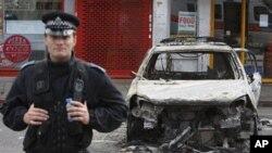 شمالی لندن میں فسادات ، لوٹ مار اور آتش زنی: 30افراد زخمی