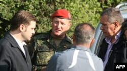 Bir qrup Kosovo serbi sərhəd məntəqələrini atəşə tutub