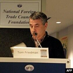 纽约时报专栏作家弗里德曼演讲
