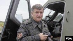 ລັດຖະມົນຕີກະຊວງພາຍຢູເຄຣນ ທ່ານ Arsen Avakov