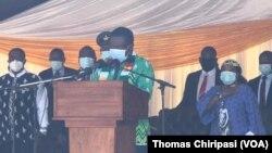 President Emmerson Mnangagwa At Mbuya Nehanda Ceremony