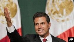 엔리케 페냐 니에토 멕시코 대통령 당선자.