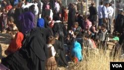 Musul operasyonunun üç hafta önce başlamasından bu yana neredeyse 45 bin kişi evlerini terk etti