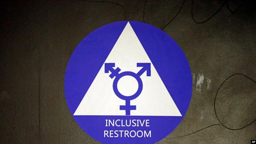 川普撤销奥巴马时期跨性别厕所使用政策