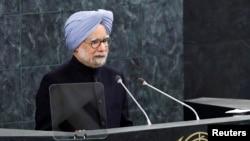印度總理辛格在聯合國大會上發言