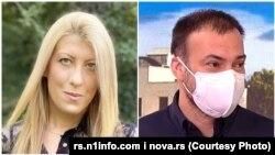 Jelena Zorić i Aleksandar Cvrkotić nagrađena televizijska ekipa N1 (Foto: N1 i Nova.rs)