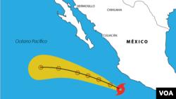 Dora se convirtió este lunes en el primer huracán de la temporada.