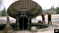 Подземная шахта ракеты «Тополь - М»