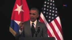 Barak Obama Kubada siyasi islahatlara çağırır