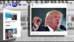 Ông Trump đảo ngược lập trường về việc Mỹ can thiệp ở Libya (VOA60)