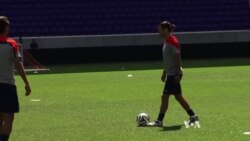 US Soccer Team Preps for World Cup Action