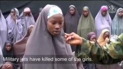 Viidiyoo dubartoota Naayjeeriyaa 'Chibok girls' garee Bokkoo Haraamin fudhataman agarsiisu.