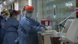 美國新冠病例和住院率再度升高