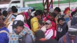 Ecuador atiende a venezolanos desplazados