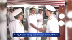 Ấn-Mỹ tăng cường hợp tác quốc phòng giữa tranh chấp Biển Đông