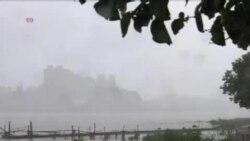"""热带风暴""""潭美""""侵袭台湾"""