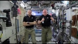 VOA Talks With ISS Astronauts