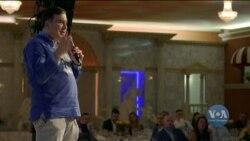 День незалежності України у Каліфорнії за участі Міхеіля Саакашвілі. Відео