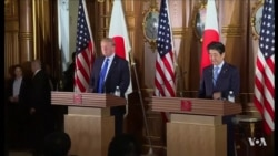 North Korea Dominates Trump-Abe Talks in Tokyo