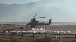 Drones Power Up to Fight Wildfires