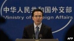 Пресс-секретарь китайского МИД Хон Лей